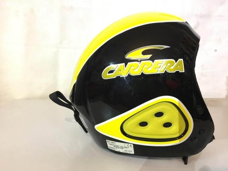 Casco Carrera Giallo/nero race (nuovo)