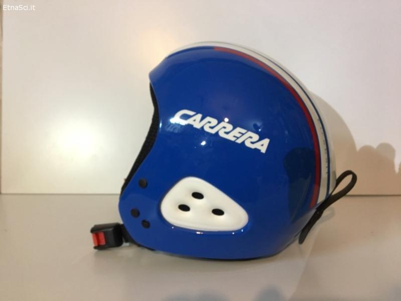 Casco Carrera race blu e bianco (Nuovo)