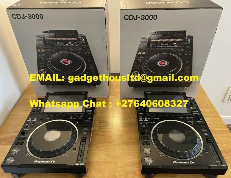 PIONEER CDJ-3000 DJ MULTI PLAYER / PIONEER CDJ-2000NXS2